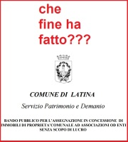 bando associazioni latina