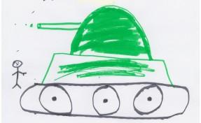 disegno bambino siriano